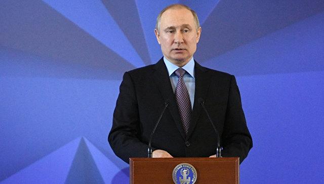 Владимир Путин: санкции вотношении Российской Федерации заставляют «включить мозги»