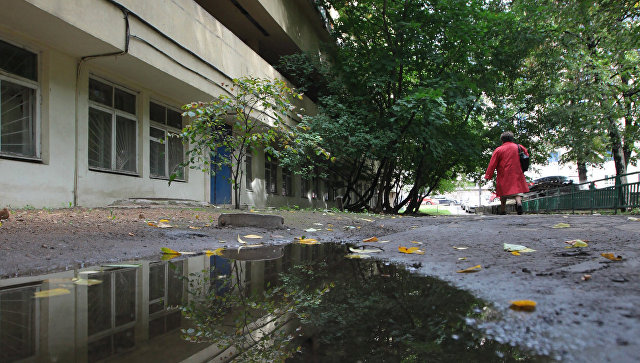 Жилой дом-коммуна Наркомфина. Архитектор М.Гинзбург