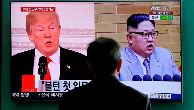 Трамп объяснил отказ от встречи с Ким Чен Ыном