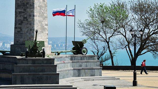 Мемориал воинской славы и памяти павших в борьбе с немецко-фашистскими захватчиками» на горе Митридат в городе Керчь