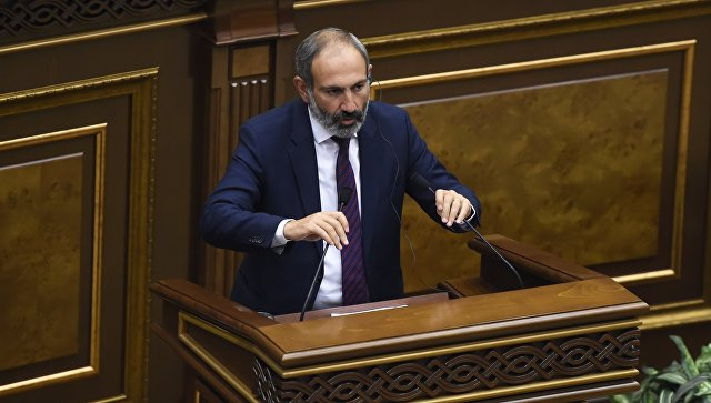 Кандидат в премьер-министры, лидер партии Елк Никол Пашинян. Архивное фото