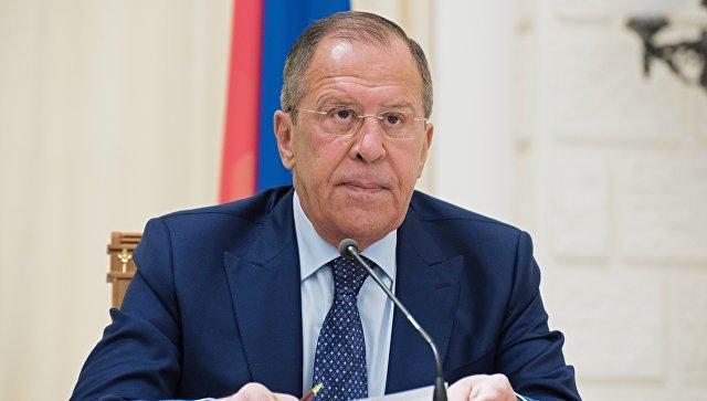 Ио министра иностранных дел РФ Сергей Лавров. Архивное фото