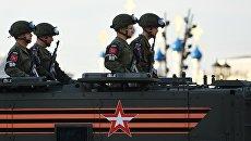 Сотрудники военной полиции. Архивное фото