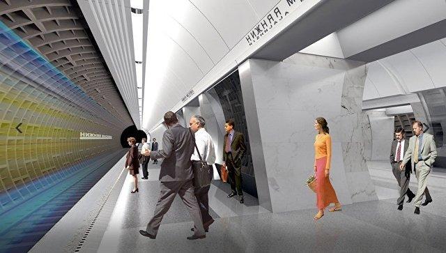 Станцию метро «Нижняя Масловка» в столицеРФ откроют зимой