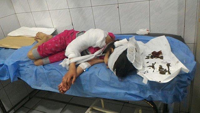 Пятеро детей пострадали при обстреле жилого квартала Алеппо