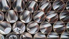 Трубы для строительства трубопровода Северный поток - 2. Архивное фото