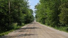 Загородная дорога. Архивное фото
