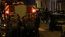 Нападение на прохожих в центре Парижа