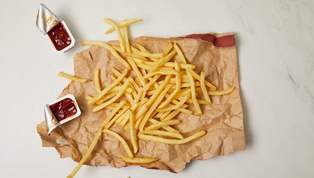 Картофель фри. Архивное фото