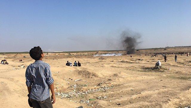 Более тысячи детей получили ранения с начала протестов в секторе Газа