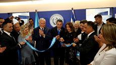 Церемония открытия посольства Гватемалы в Иерусалиме. 16 мая 2018