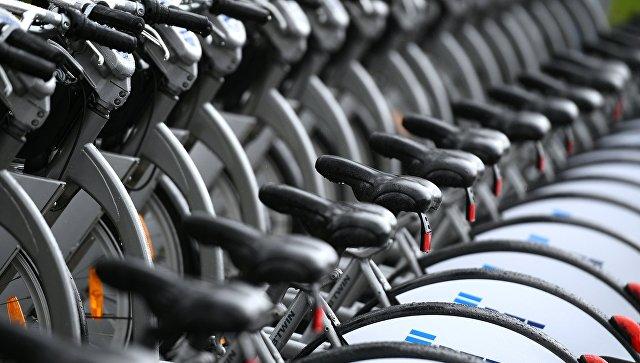 Открытие сезона велопроката  в Москве