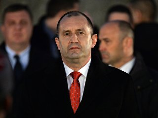 Президент Болгарии Румен Радев. Архивное фото
