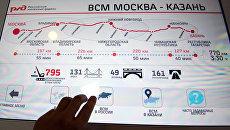 Открытие Информационного центра ВСМ Москва – Казань. Архивное фото