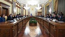 Заседание правительства РФ в новом составе. 22 мая 2018