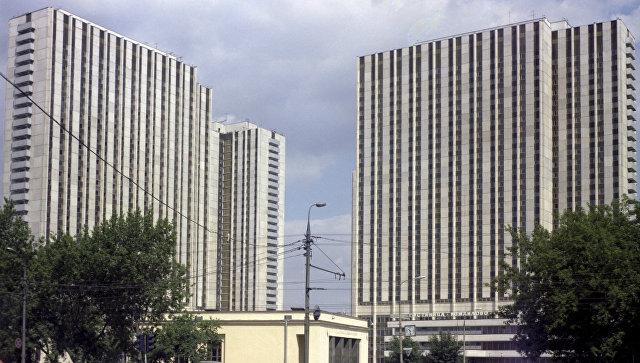 Вид на гостиничный комплекс Измайлово. Архивное фото