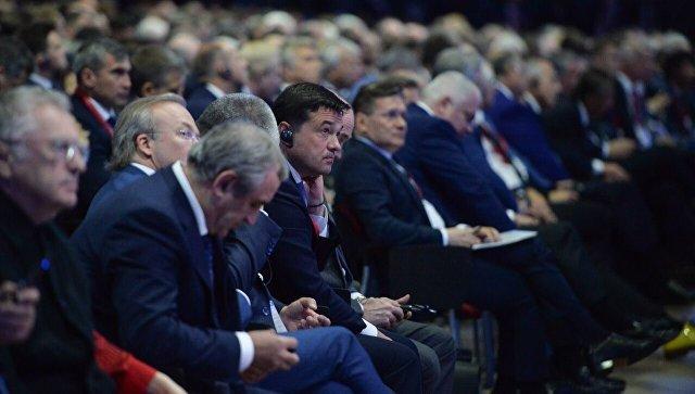 Губернатор Московской области Андрей Воробьев на Петербургском международном экономическом форуме