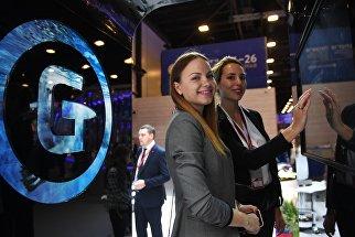 Участники Петербургского международного экономического форума. 26 мая 2018