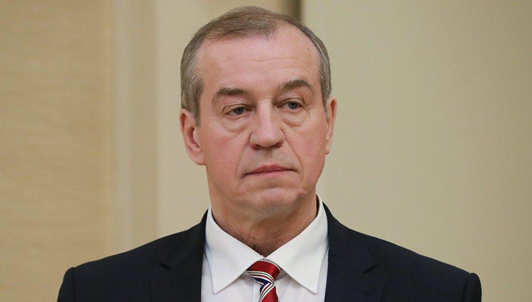 Губернатор Иркутской области Сергей Левченко. 19 февраля 2018