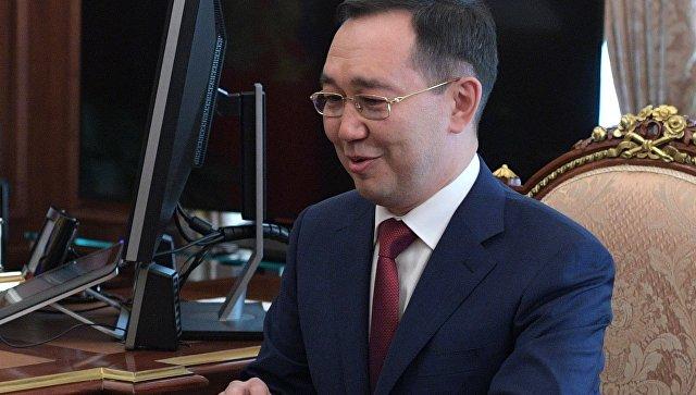 Врио главы Якутии Айсен Николаев. Архивное фото
