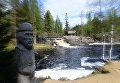 На водопадах Ахвенкоски