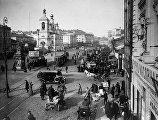Старая Москва. Охотный ряд, 1925 г