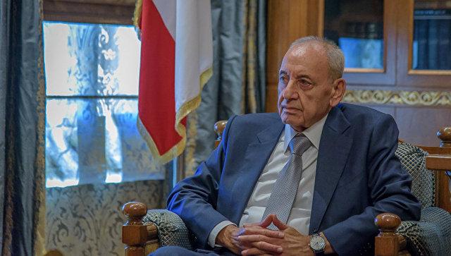 Спикер парламента Ливана Набих Берри