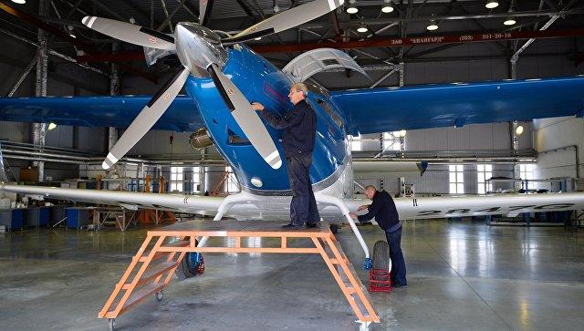 Новый легкий самолет ТВС-2-ДТС. Архивное фото