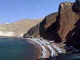 Красный пляж Akrotiri