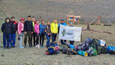 Волонтеры закончили обустройство экотропы в Сайлюгемском нацпарке