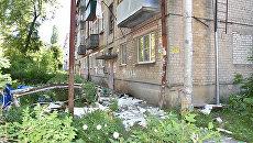 Последствия взрыва бытового газа в жилом доме в городе Пенза. 11 июня 2018