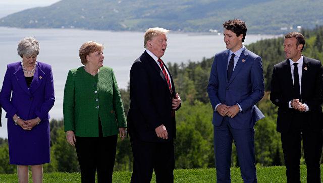 Саммит G7 в Квебеке. 8 июня 2018