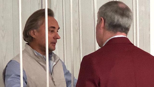 Депутат Заксобрания Омской области Сергей Калинин в суде