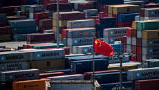 Торговый порт в Шанхае. Архивное фото