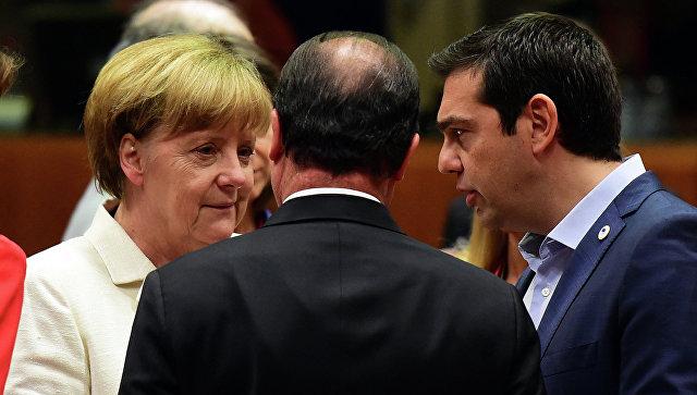 Канцлер Германии Ангела Меркель и премьер-министр Греции Алексис Ципрас. Архивное фото