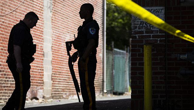 Сотрудники правоохранительных органов США в городе Трентон, Нью-Джерси. Архивное фото