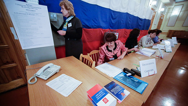 Подготовка к выборам в Подмосковье. Архивное фото