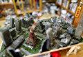 Миниатюрная диорама тайваньского художника Хэнка Ченга