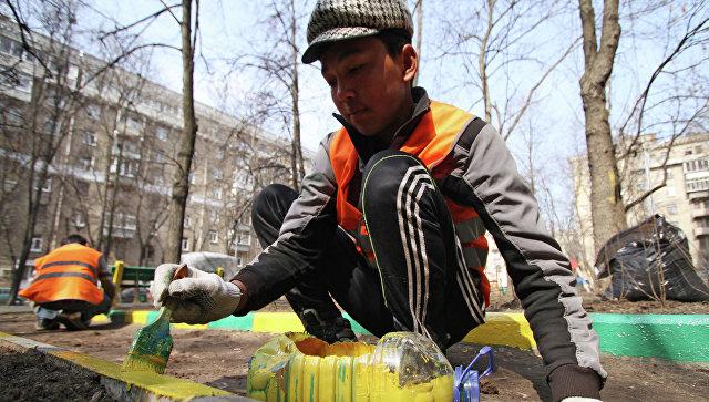 Комплексные мероприятия по благоустройству города после зимы