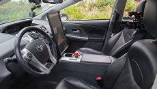 Кабина беспилотного автомобиля Яндекс. Архивное фото