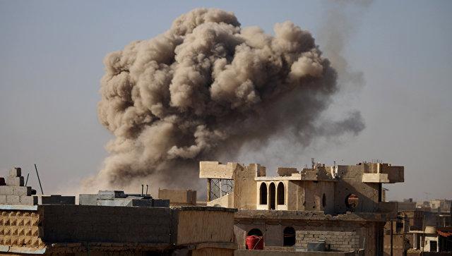 Авиаудары по повстанческим городам на юге Сирии. 24 июня 2018