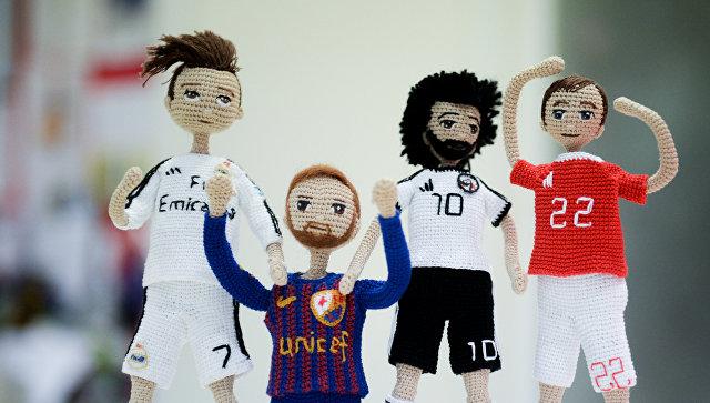 Игрушки к Чемпионату мира по футболу в России