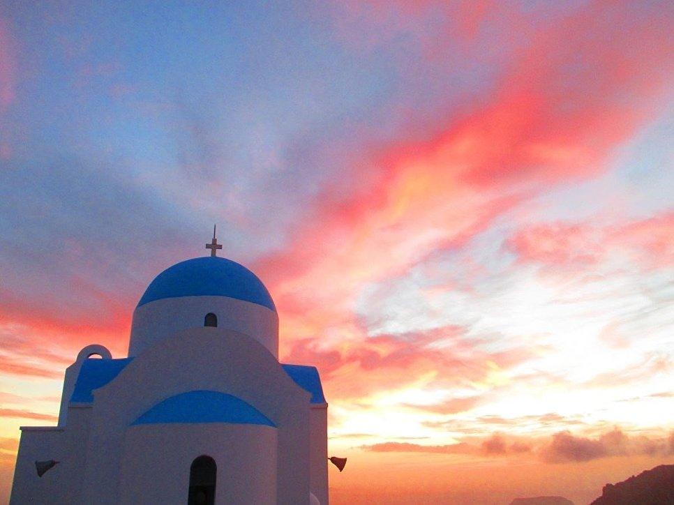 Часовня пророка Ильи, остров Нисирос.
