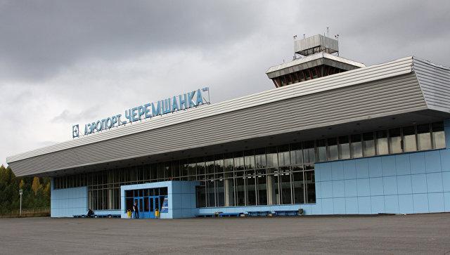 Аэропорт Черемшанка в Красноярске. Архивное фото