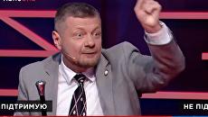 Украинские депутаты поскандалили в прямом эфире из-за Крыма