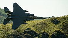 Истребитель F-15 ВВС США. Архивное фото