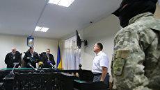 Заседание украинского суда по делу Вышинского. Архивное фото
