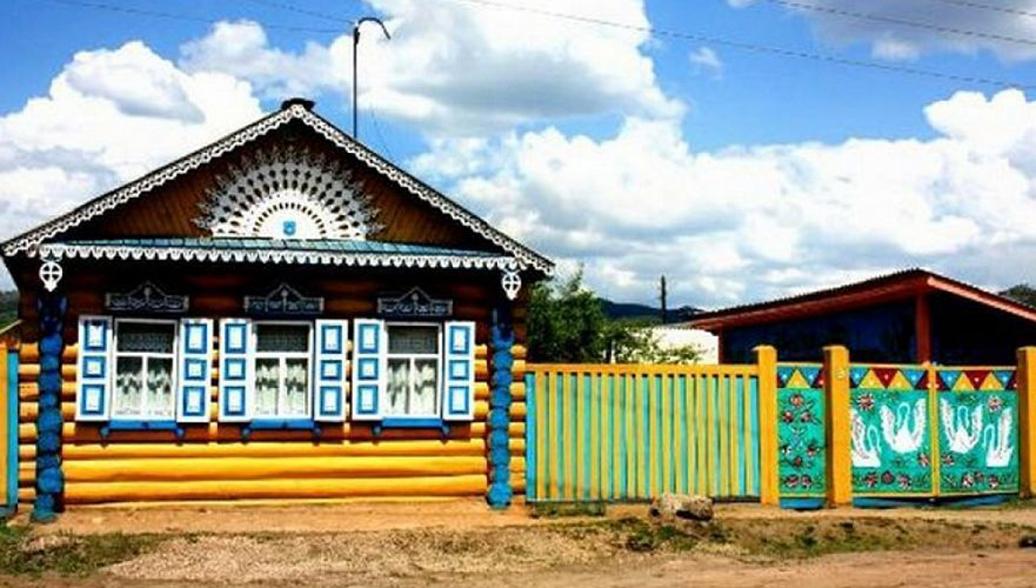Село Большой Куналей в республике Бурятия