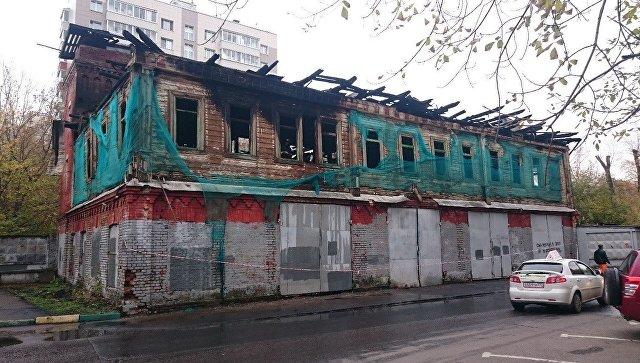 Здание пожарной части села Черкизова