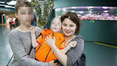 Екатерина Коннова с детьми